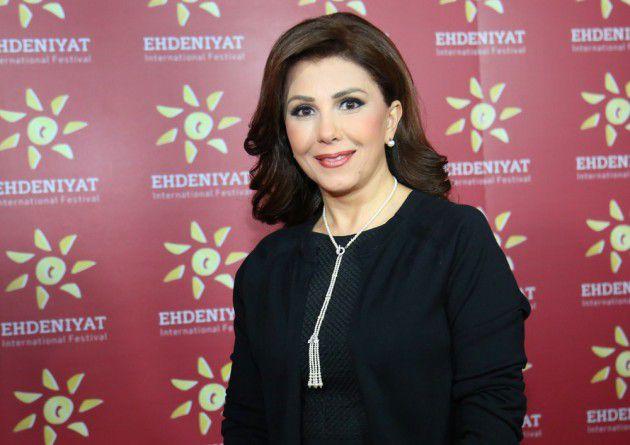 النجمة اللبنانية ماجدة الرومي