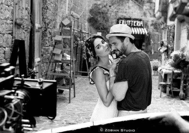 سيرين عبد النور مع حبيبها في كليب (بحبك يا مهذب)