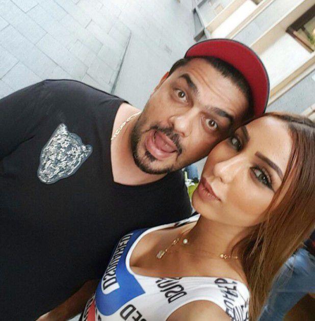 دنيا بطمة بأبشع صورة مع محمد الترك