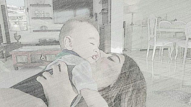 داليدا عياش وابنها إرام والذي يظهر معها لأول مرة