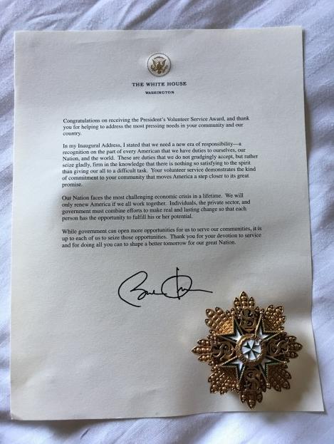 Obama Presidential Award
