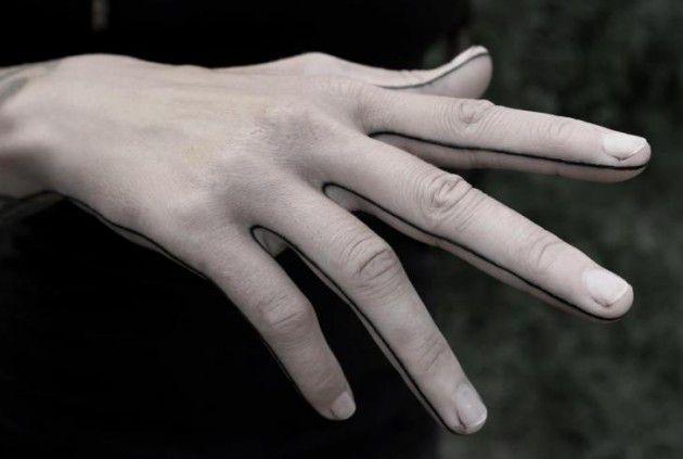 التمارين بالأصابع