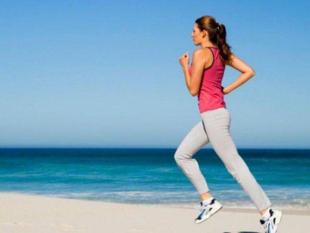 عند  الركض يخشر الشخص 40% من السعرات الحرارية عن المشي