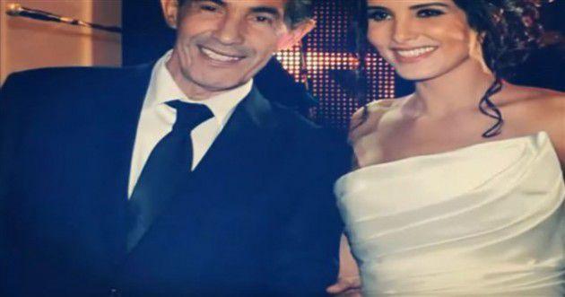 صوفيا المريخ مع والدها وليس زوجها