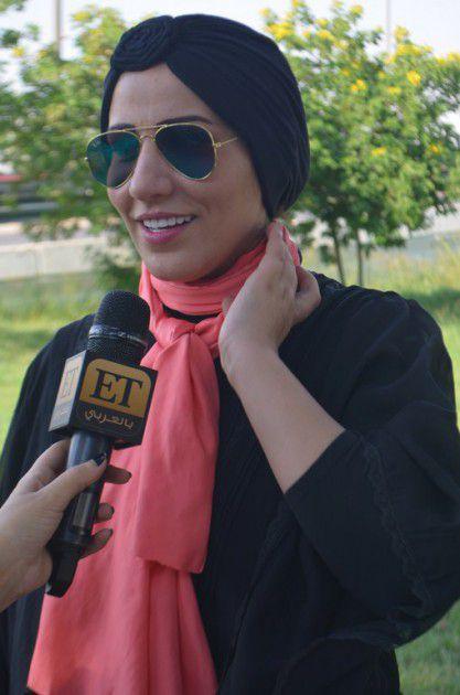 وأجرت لقاءً مع برنامج ET بالعربي