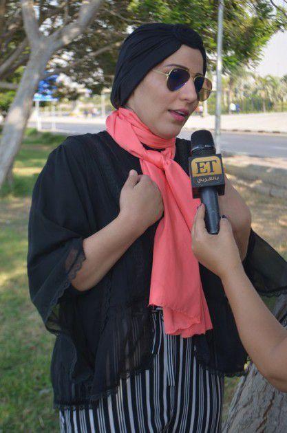 نداء شرارة لازالت محجبة وكل ما نشر عن خلعها للحجاب شائعات