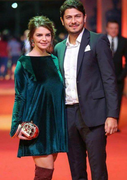 بيلين كارهان وزوجها رجل الأعمال التركي بدري جونتاي