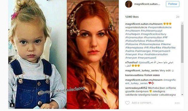 الصورة التي اشعلت مواقع التواصل للسلطانة هيام وابنتها