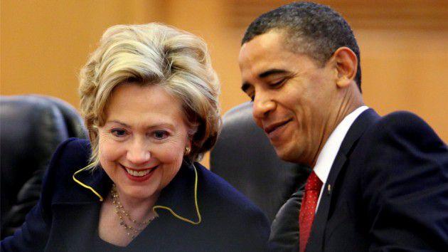 باراك أوباما هيلاري كلينتون