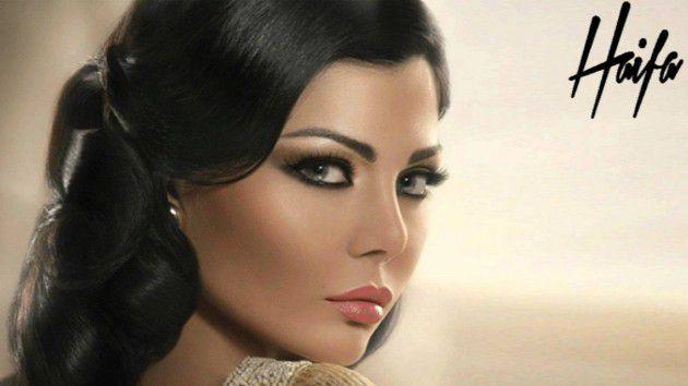 الفنانة اللبنانية هيفا وهبي