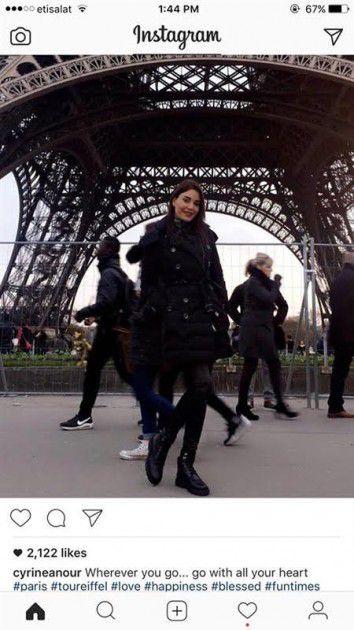 سيرين عبد النور في باريس